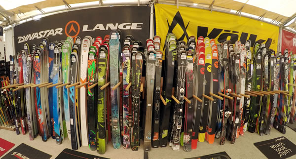 too many skis!