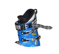 Lange WC130 ski boot with Booster Strap